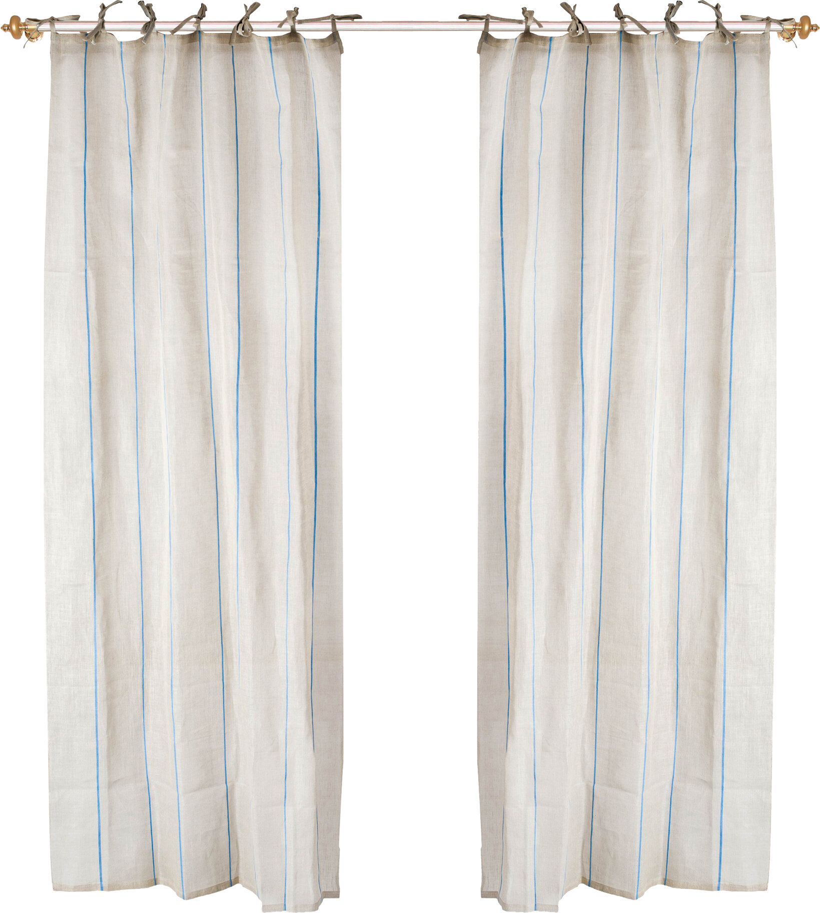 curtains l x white tietop top drapes designs curtain linen tie w