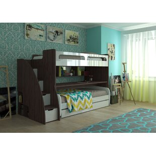 Bunk Bed With Couch Wayfair