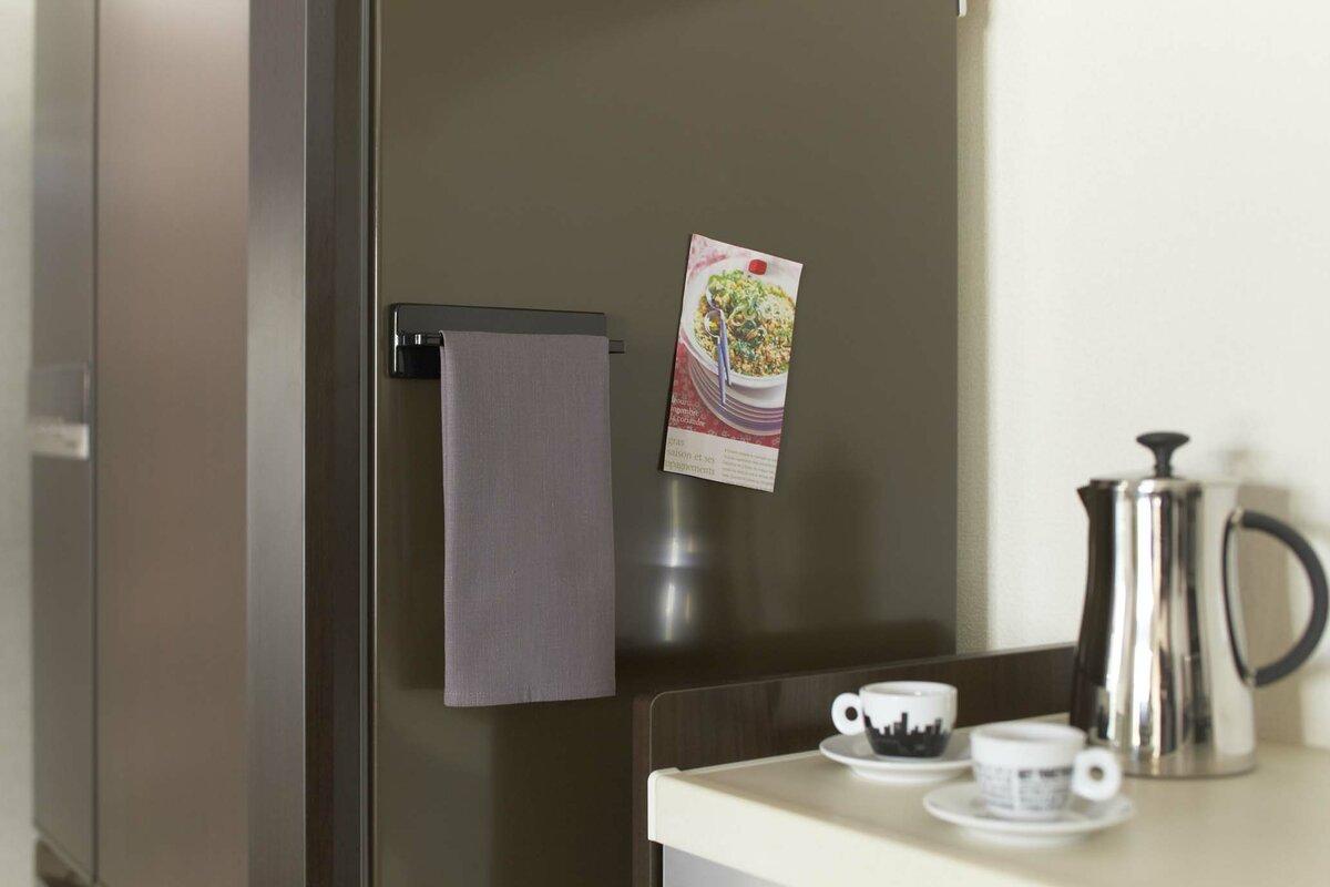 Yamazaki USA Magnetic Kitchen Towel Rack & Reviews   Wayfair