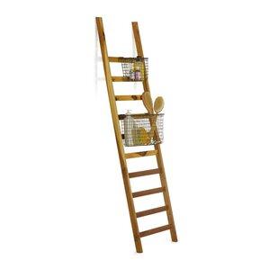 Cabo Ladder Baskets Quilt Rack by Design Ideas