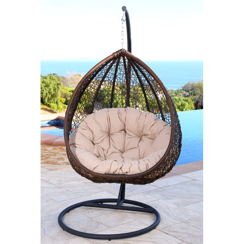Surprising Ghazali Swing Chair With Stand Onthecornerstone Fun Painted Chair Ideas Images Onthecornerstoneorg