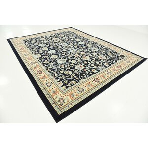 Concord Navy Blue Area Rug