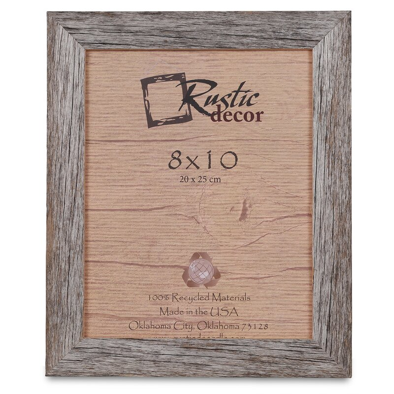 Kaison Barn Wood Reclaimed Standard Picture Frame Reviews Joss