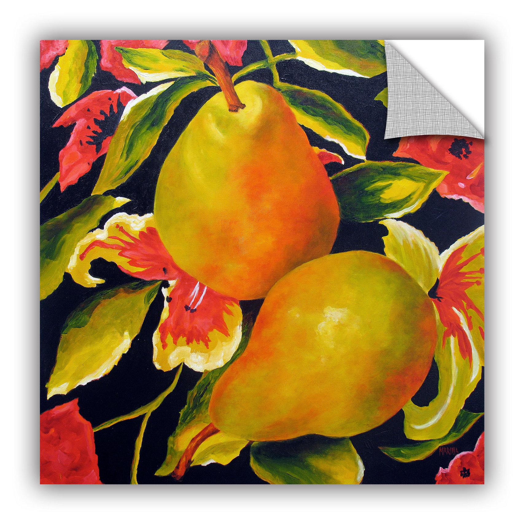 ArtWall ArtApeelz Camouflage by Marina Petro Painting Print ...