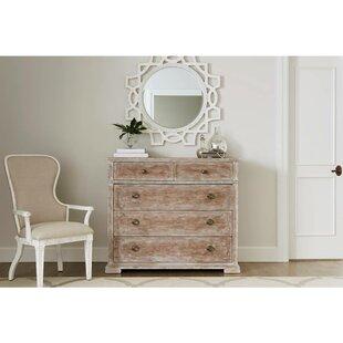 Juniper Dell 5 Drawer Dresser With Mirror