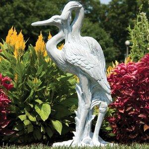 Animals Cranes Statue