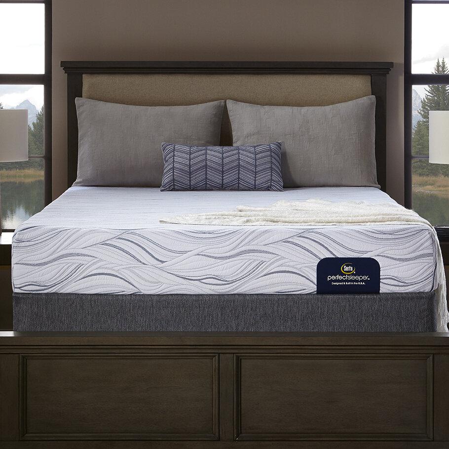 Serta Perfect Sleeper 9 Medium Memory Foam Mattress And Box Spring
