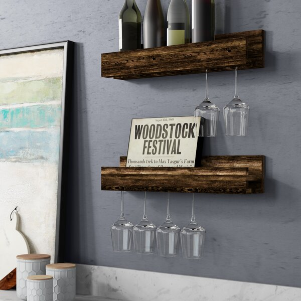 Wall Mounted Wine Bottle Rack Wayfair