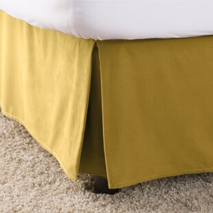 Yellow Gold Bed Skirts You Ll Love Wayfair