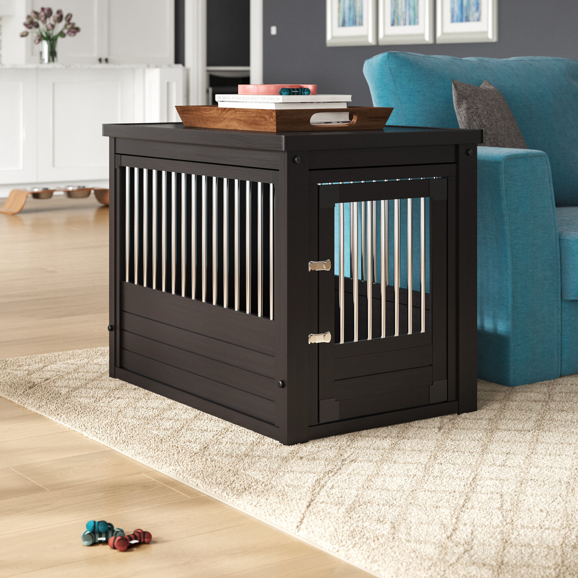 Designer Dog Crates Furniture | Wayfair