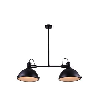 Modern 2 light pendant lighting allmodern 2 light kitchen island pendant aloadofball Image collections