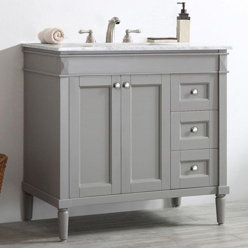 Bathroom Vanities.Millfield 36 Single Bathroom Vanity Set