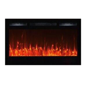 Sideline Wall Mount Electric Fireplace by To..