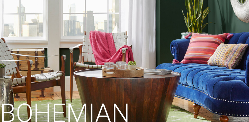 bohemian furniture boho decor joss main