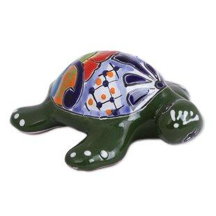 Delightful Turtle Ceramic Wall Décor