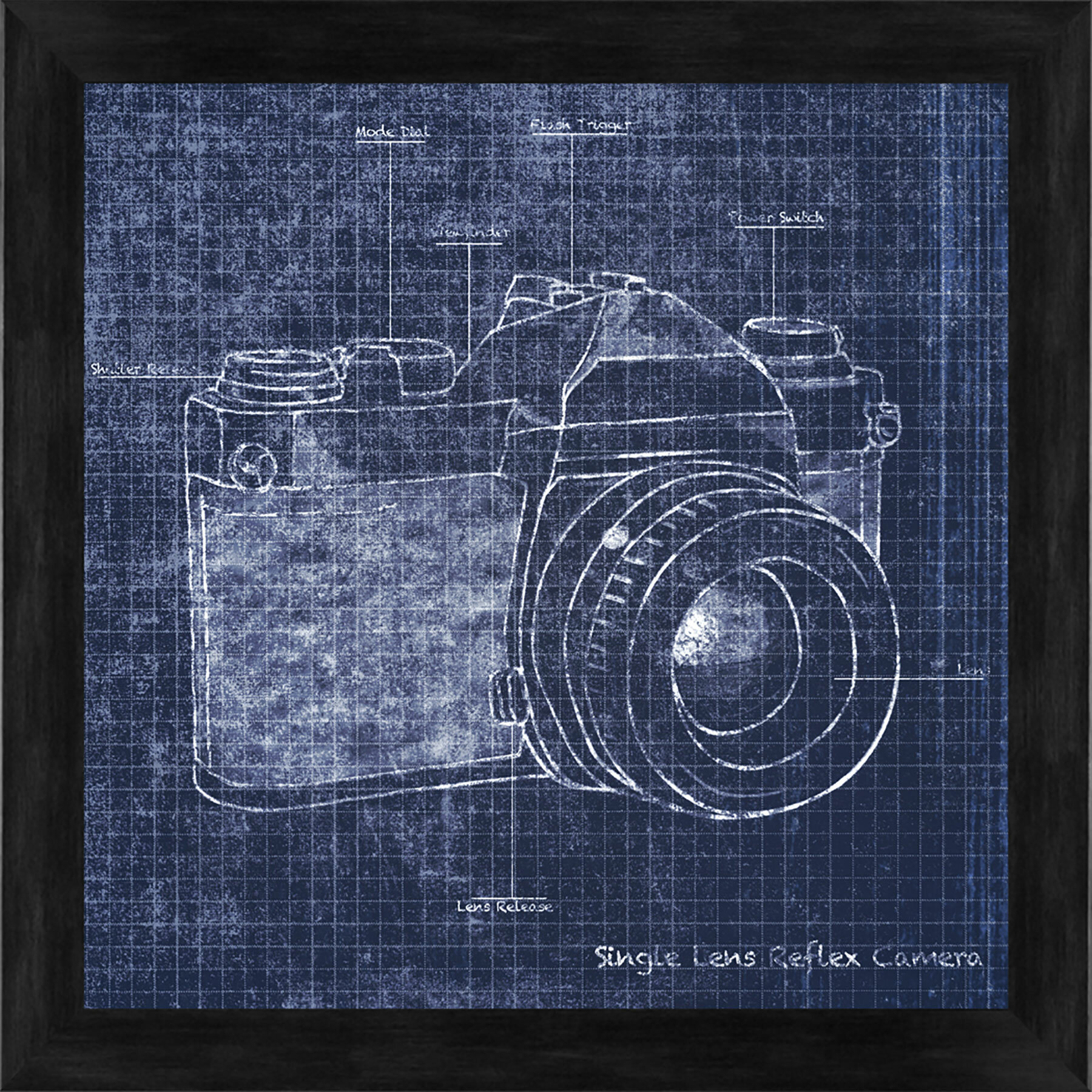 Ptm images camera blueprint i gicle framed graphic art reviews ptm images camera blueprint i gicle framed graphic art reviews wayfair malvernweather Gallery