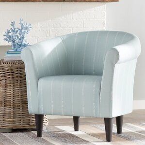 Ashberry Barrel Chair by Highland Dunes