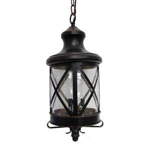 Taysom 3-Light Outdoor Hanging Lantern