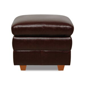 Austin Leather Ottoman by Luke..