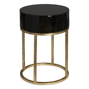 Attractive Broadmoor Curved End Table