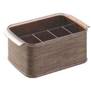 Twillo Flateware Caddy Organizer For Kitchen Countertop Storage Dining Table