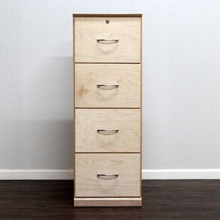 unfinished wood file cabinet. Flat Iron 4-Drawer Vertical File. By Gothic Furniture Unfinished Wood File Cabinet