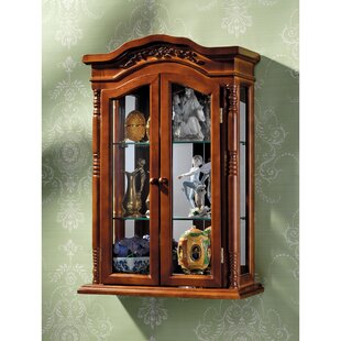 Beacon Hill Wall-Mounted Curio Cabinet