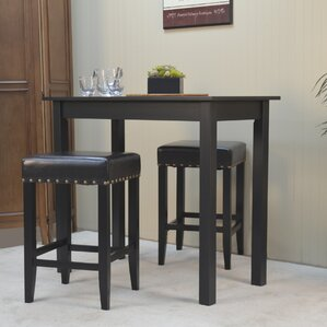 Stafford 3 Piece Pub Table Set by Darby Home Co