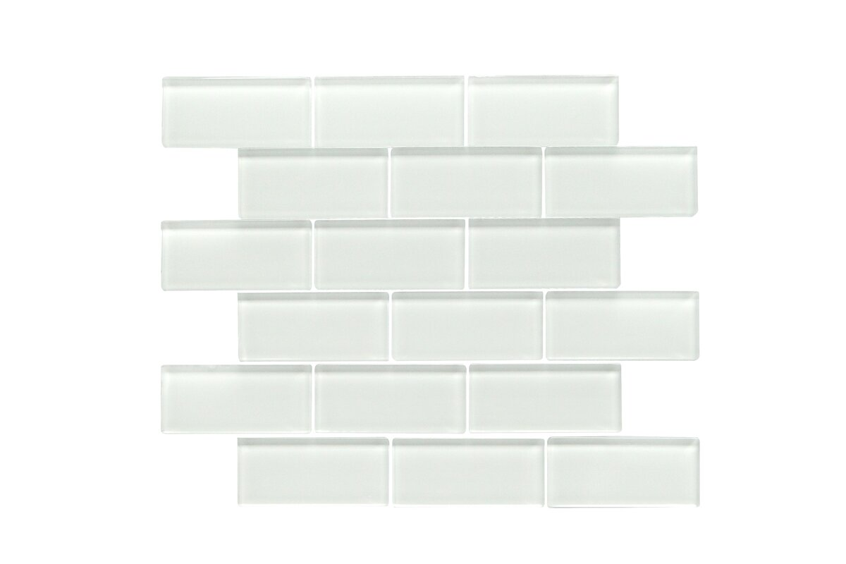 Ws tiles premium series 2 x 4 glass subway tile in glossy white premium series 2 x 4 glass subway tile in glossy white dailygadgetfo Choice Image