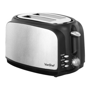 2-Slice Wide Slot Toaster with High Lift Lever