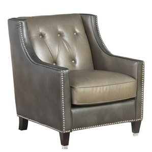 Beatson Faux Leather Armchair by Darby Home Co