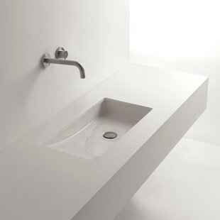 Whitestone Om Ceramic Specialty Undermount Bathroom Sink