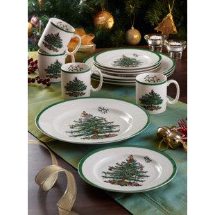 Christmas Dinnerware Sets You Ll Love Wayfair