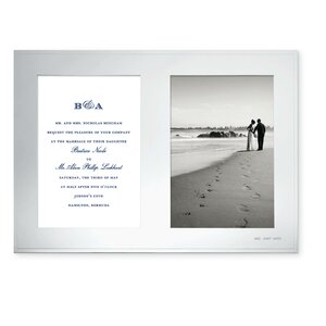 darling point double invitation picture frame - Double 5x7 Frame