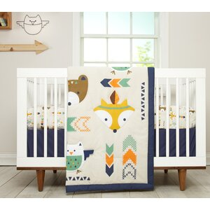Aztec Infant 5 Piece Crib Bedding Set