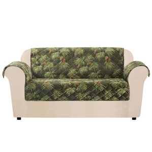 Lodge Pinecone Box Cushion Lov..