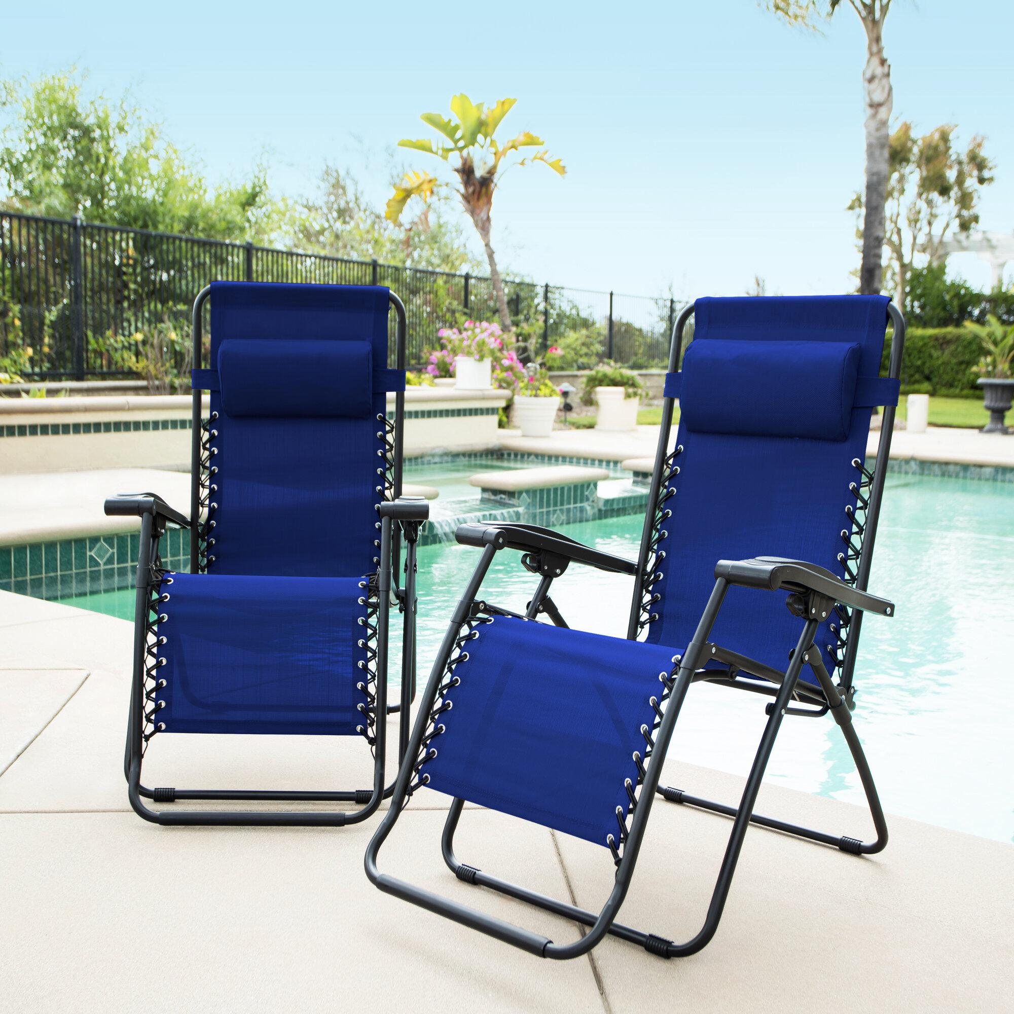 Latitude Run Sonora Jara Reclining Zero Gravity Chair With Cushion U0026  Reviews | Wayfair