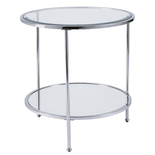 Mirrored End Side Tables Joss Main
