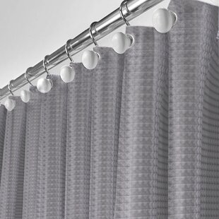 Waffle Single Shower Curtain