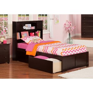 rottman extra long twin platform bed with storage