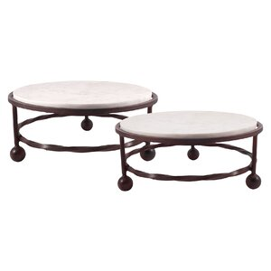 Beanfields Round Servers Bar Cart (Set of 2)