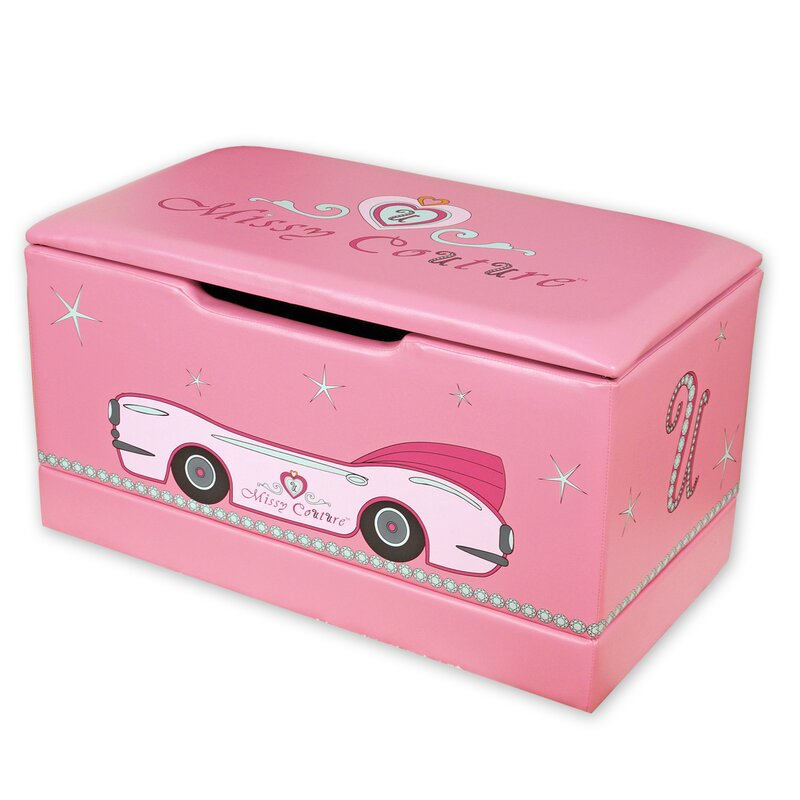 Najarian Nba Youth Bedroom In A Box: Najarian Furniture Missy Couture Upholstered Toy Box