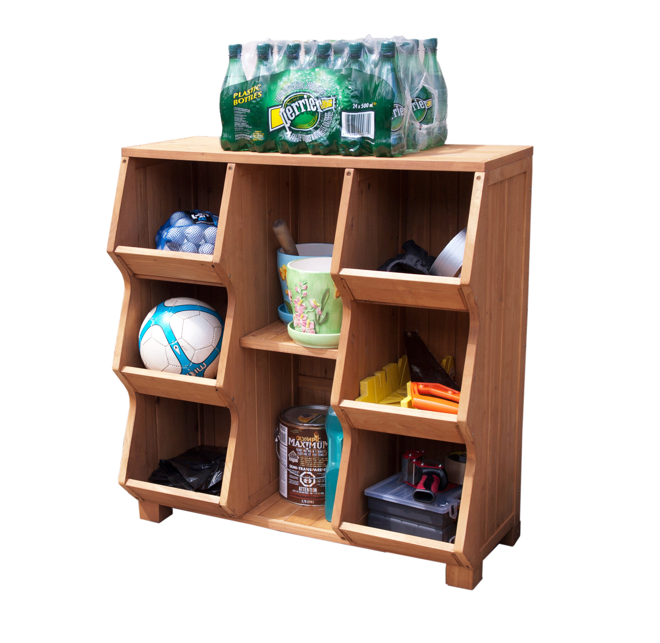 wooden shelf farmhouse cubby wood compartments the products with wall addict