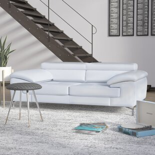 Modern & Contemporary Italian Leather Sofa | AllModern