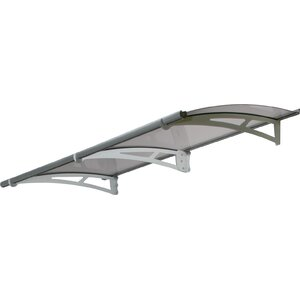 Aquilau2122 0.54ft. H x 6.73ft. W x 3.02ft. D 2050 Awning