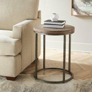 Louisa Circular End Table