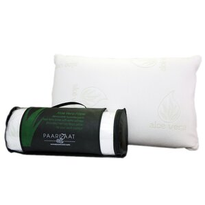 Aloe Vera Memory Foam Standard Pillow by Paarizaat