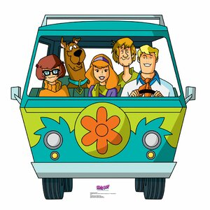 Scooby-Doo Mystery Incorporated Mystery Machine Standup