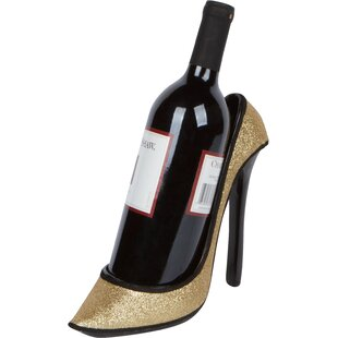 Youmans High Heel Holder 1 Bottle Tabletop Wine Rack