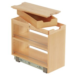 FindIT Kitchen Storage Organization Base Cabinet Pullout With Slide And  Cutting Board